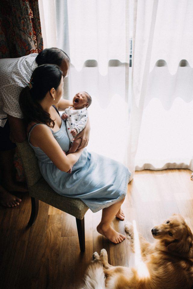 newborn lifestyle at home